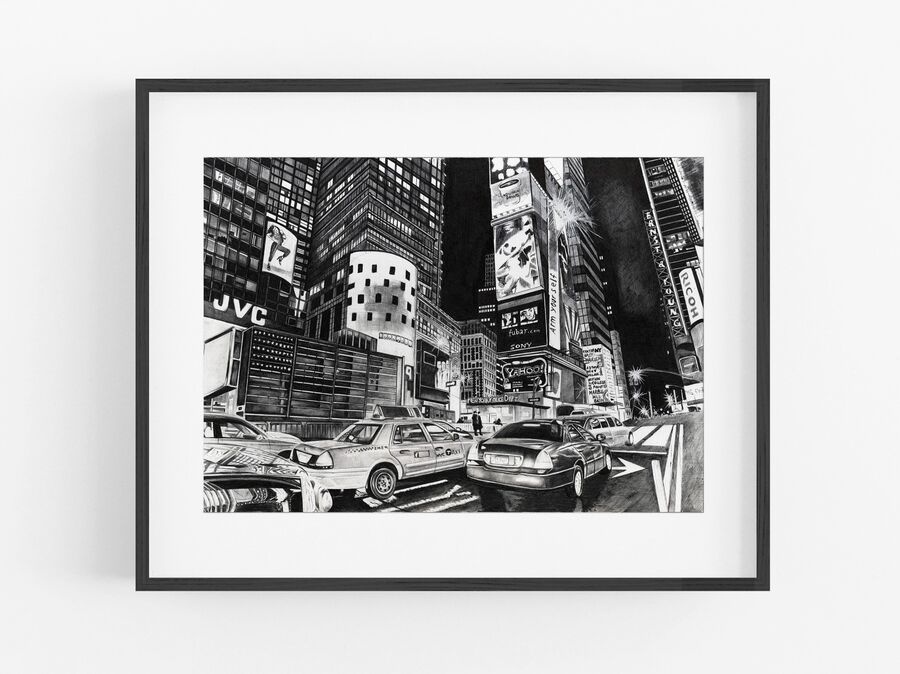 NYPD Open Edition Print
