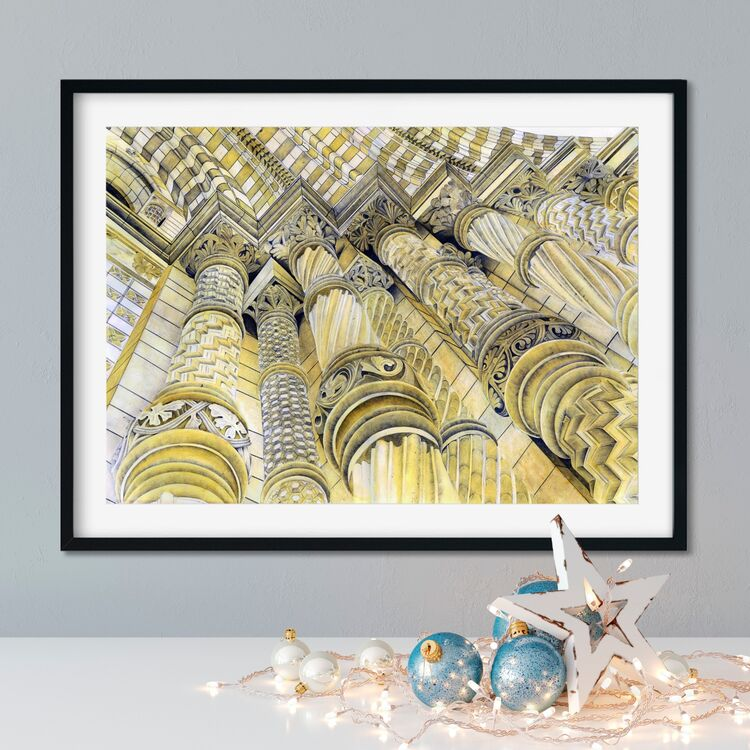 """""""Natural History Museum"""" Giclee Print"""