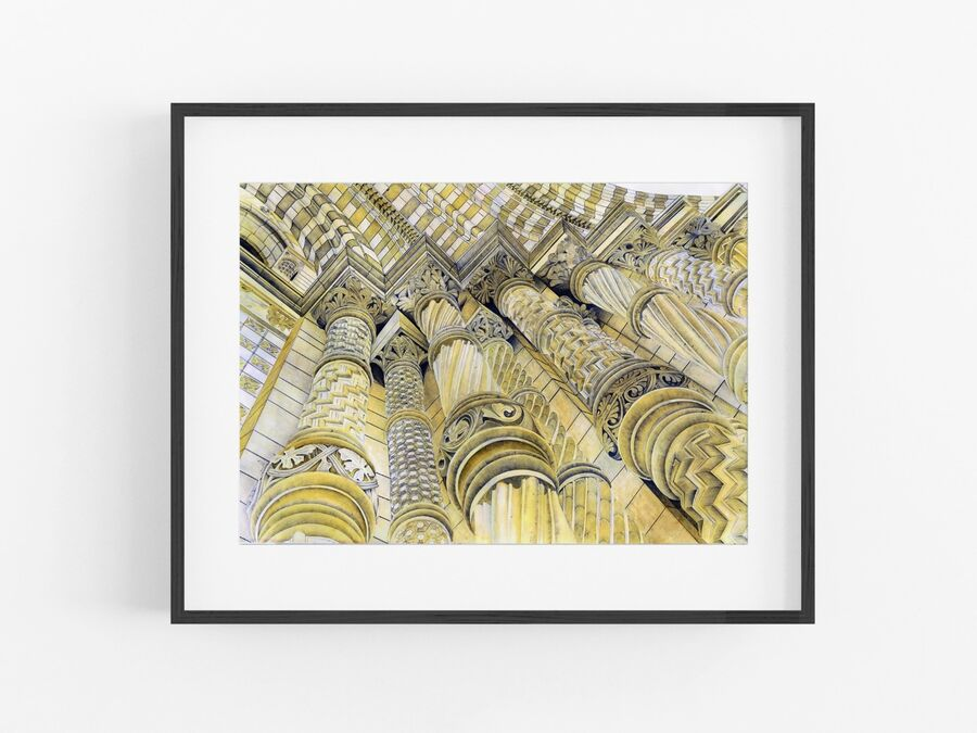 Natural History Museum Open Edition Print