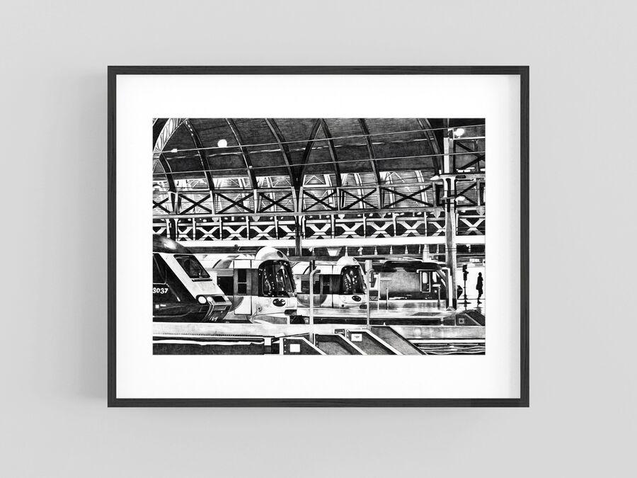 """Paddington"" Giclee Print"