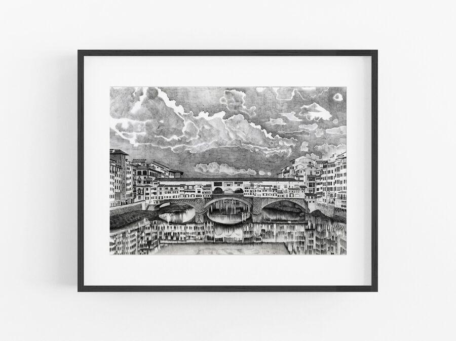 Ponte Vecchio Open Edition Print