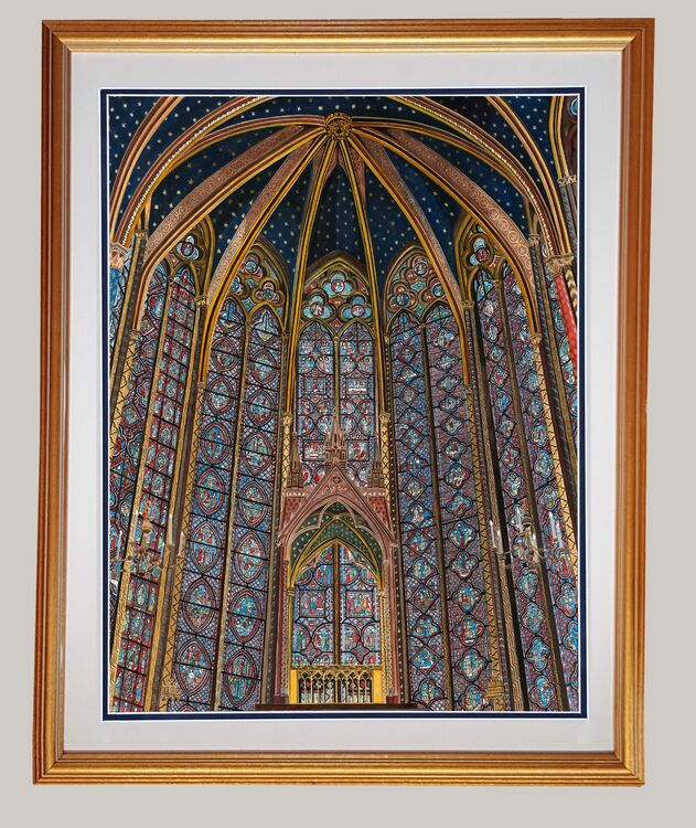 Sainte Chapelle Limited Edition Giclee Print