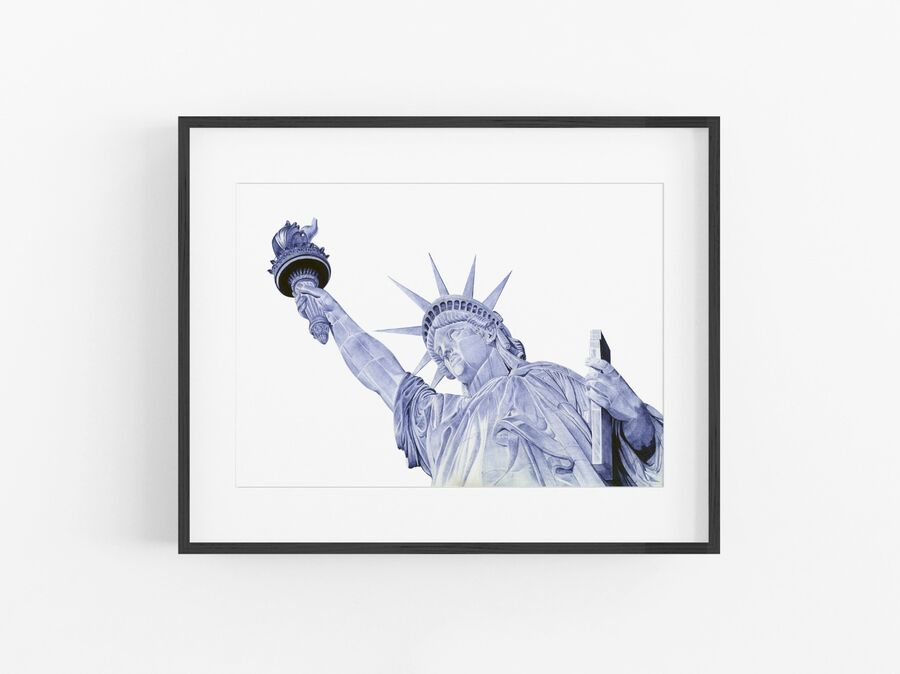 Statue of Liberty Open Edition Print