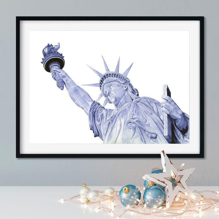 """Statue of Liberty"" Giclee Print"
