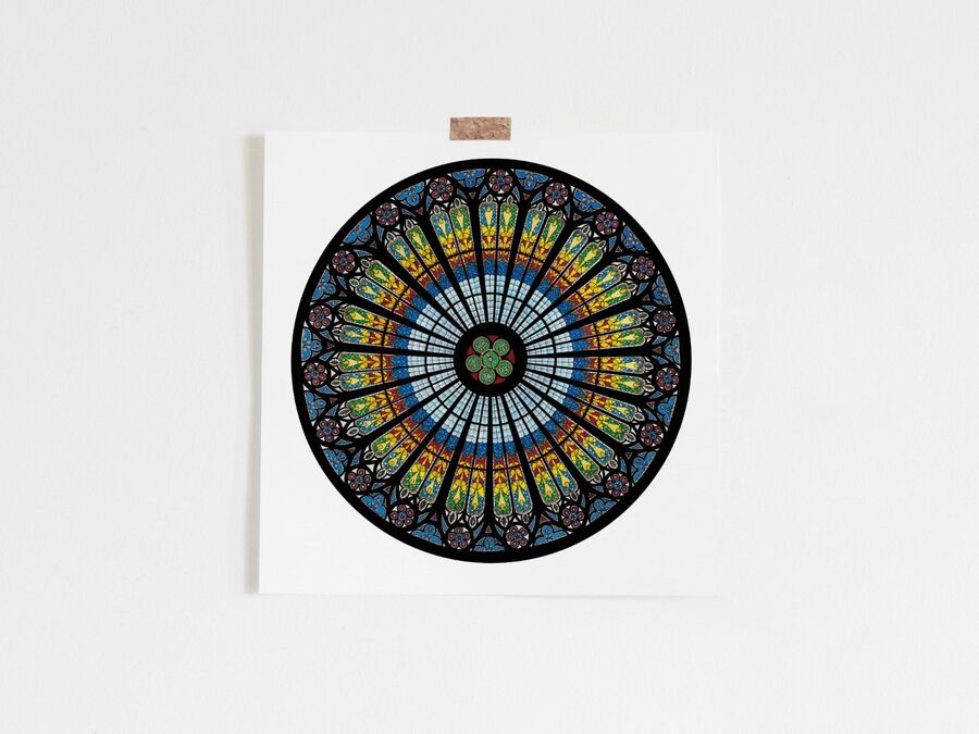Strasbourg Cathedral Limited Edition Print