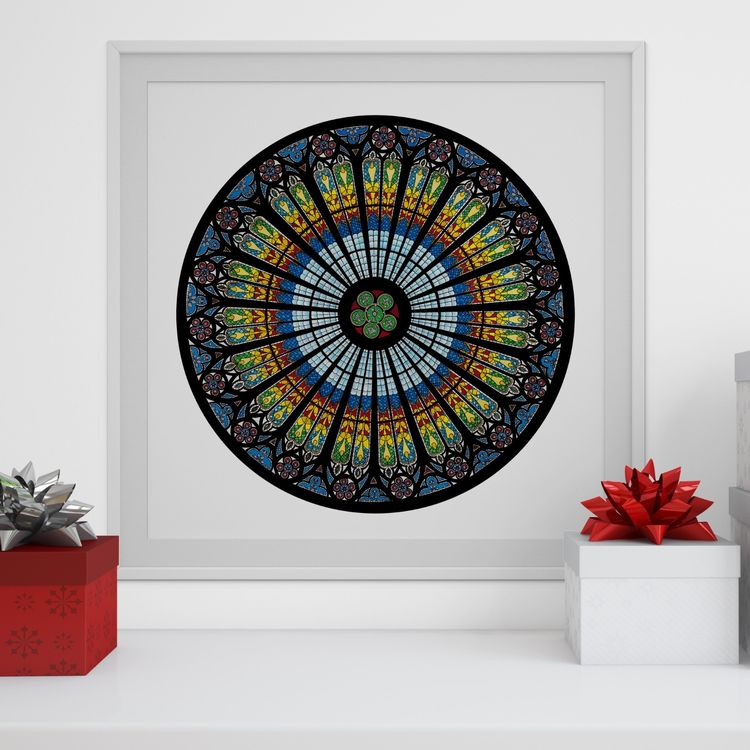Strasbourg Cathedral Open Edition Print
