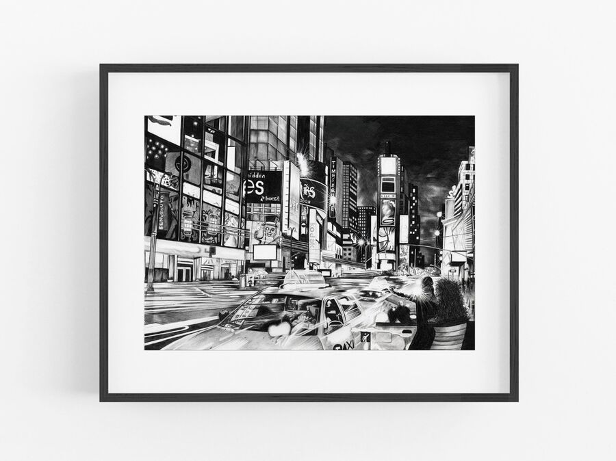 Times Square Open Edition Print