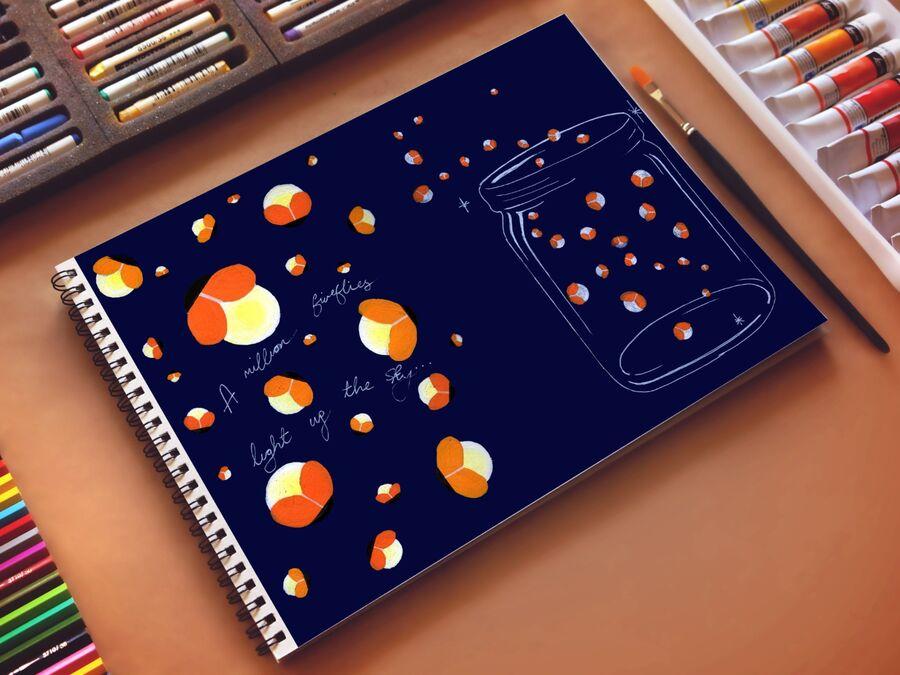 A million Fireflies Light up the Sky...