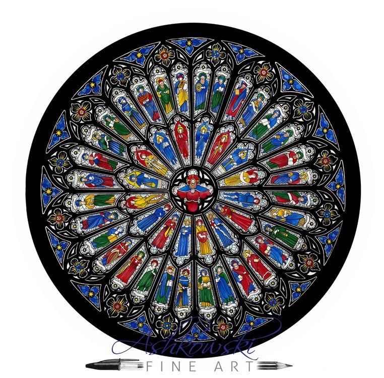 Westminster Abbey Rose Window