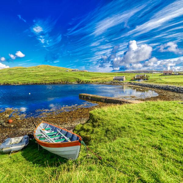Shetland Ebb Tide Gifts Canvas photos