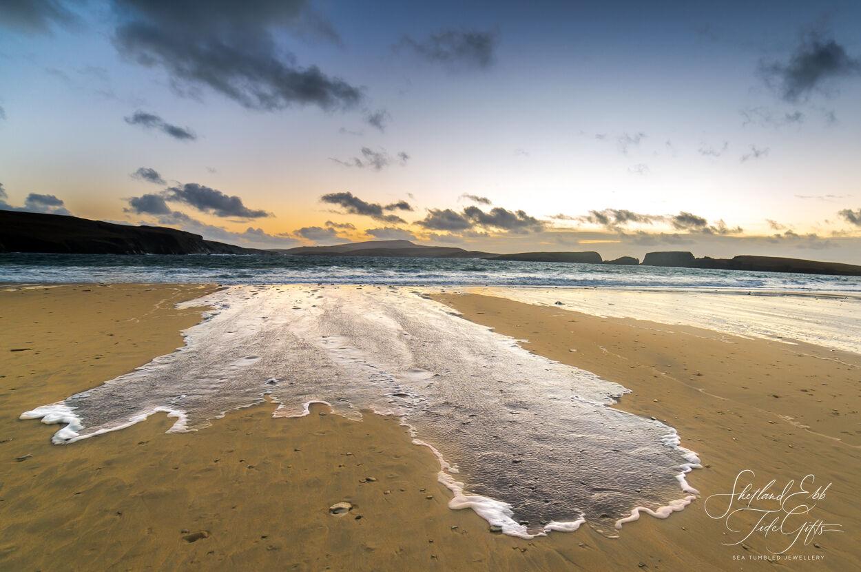 St Ninian's , a finger of sea