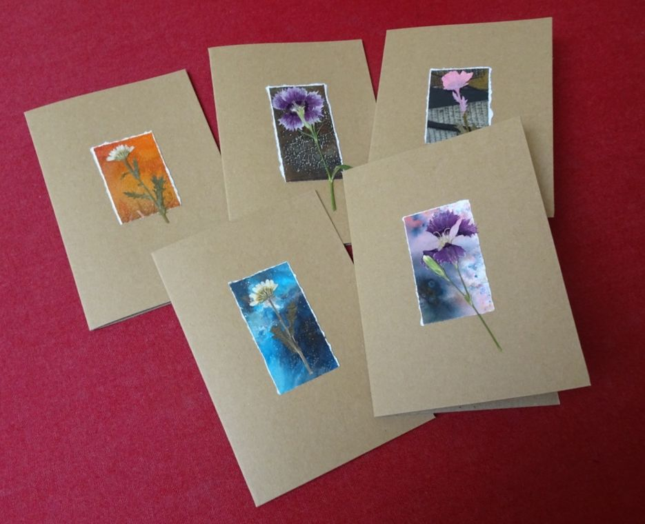 A selection of recent cards