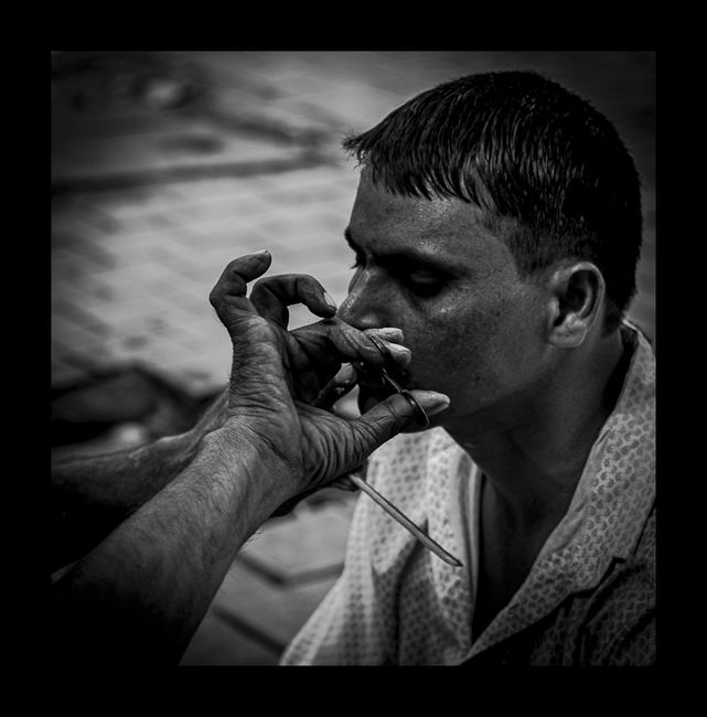 Shave and Trim, South Mumbai