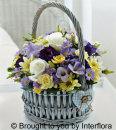 Baby Boy/Girl Basket Arrangement: £37.00