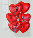 "Add a ""I Love You"" Balloon : £5.00"