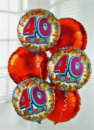 Add a 40 Birthday Balloon: £5.00