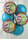 Add a 50 Birthday Balloon: £5.00