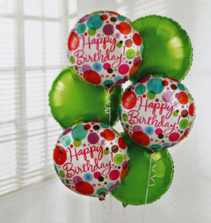 Add a Happy Birthday Balloon: £5.00