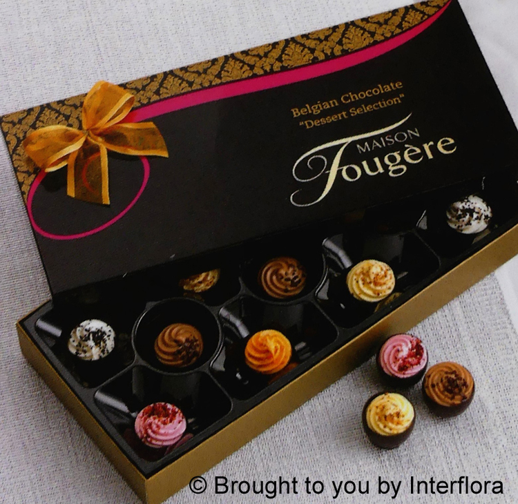 ADD 170gm Box Salted Caramel Choc Truffles to your Order: £10.00