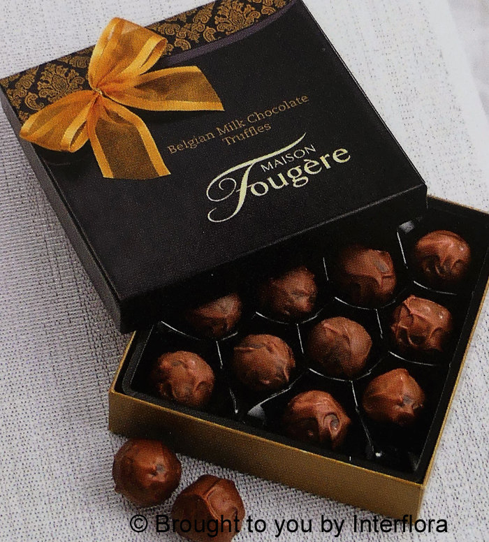 ADD 140gm Box Choc Truffles to Your Order: £8.00