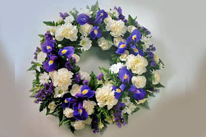 Classic Funeral Wreath: £50.00