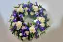 Classic Funeral Wreath: £50.00