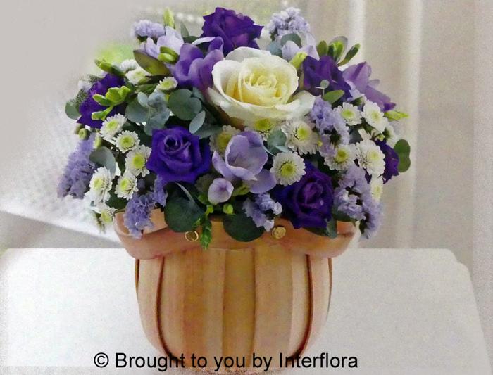 Cool Blue Petite Basket: £35.00