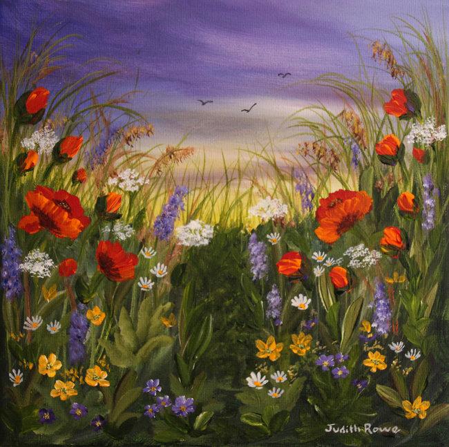 Card: Countryside Meadow #3 - £3.00