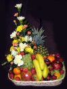 Fruit & Flower Combi-Basket: £40.00