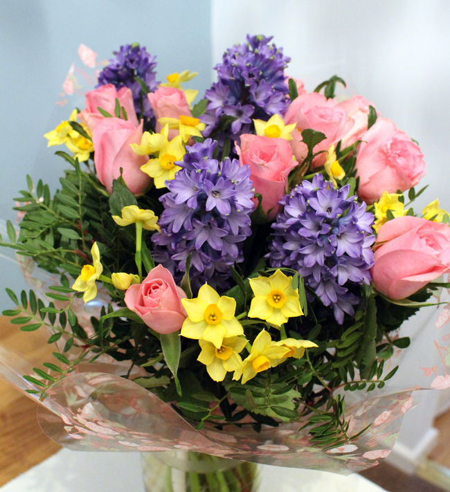 SPECIAL OFFER - Hyacinth Tied Bunch £25