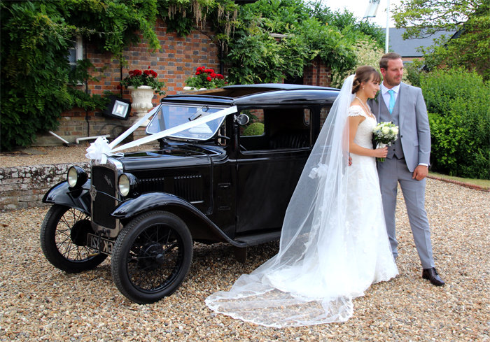 WEDDING CAR HIRE - VINTAGE AUSTIN 7