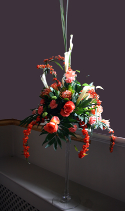 'Martini' Vase Table Arrangement