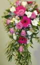 Germini, Rose & Freesia Shower Bouquet