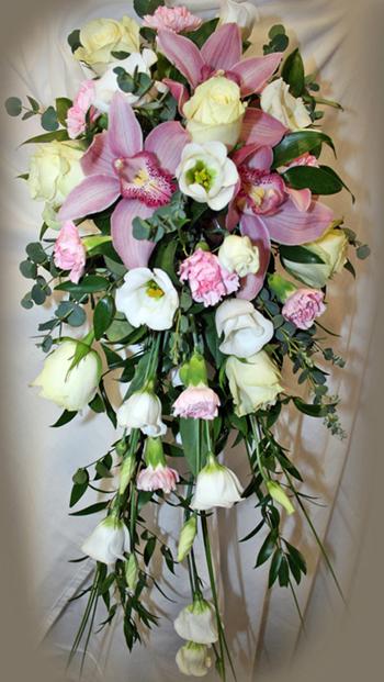 Orchid Shower Bouquet