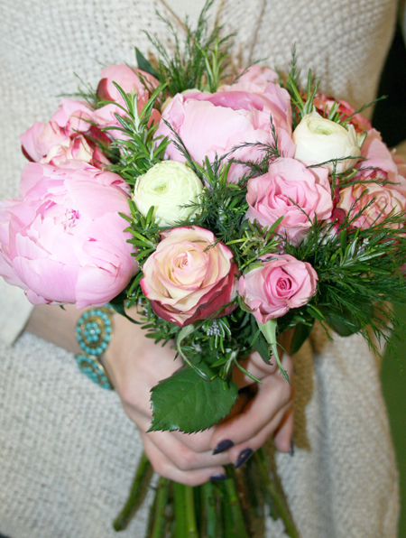 Rose & Peony Country Handtied