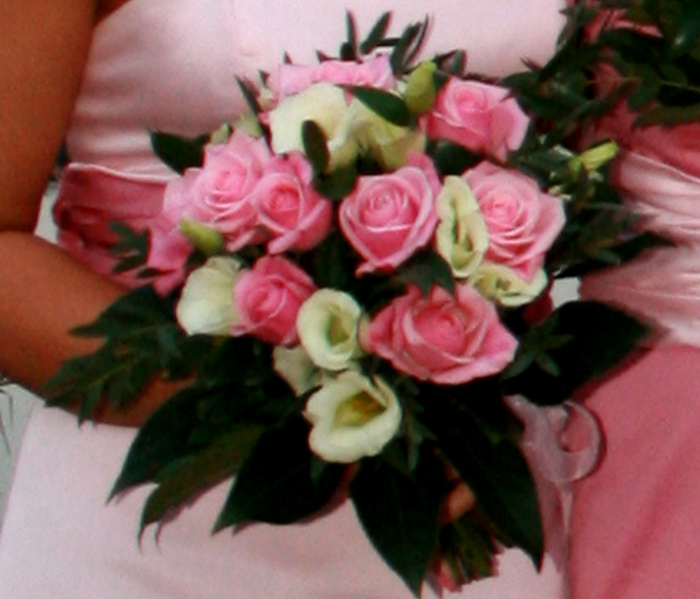 Rose Bridesmaid Posy