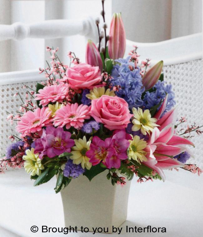 Pink Elegance Arrangement - £43.00