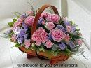 Pink & Lilac Basket: £42.00