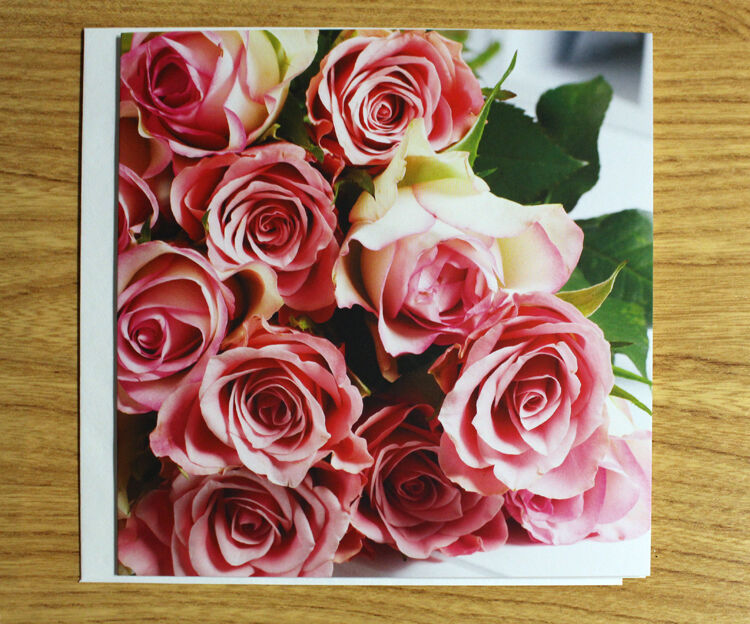 Pink Rose Card - Free Add-On