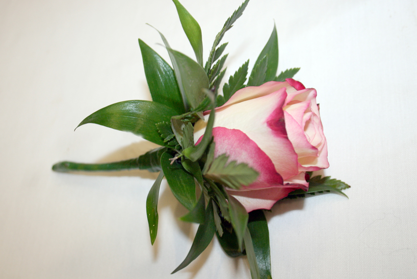 "Pink ""Sweetness"" Rose Corsage"