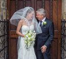 Bride Shower Bouquet & Father's Buttonhole