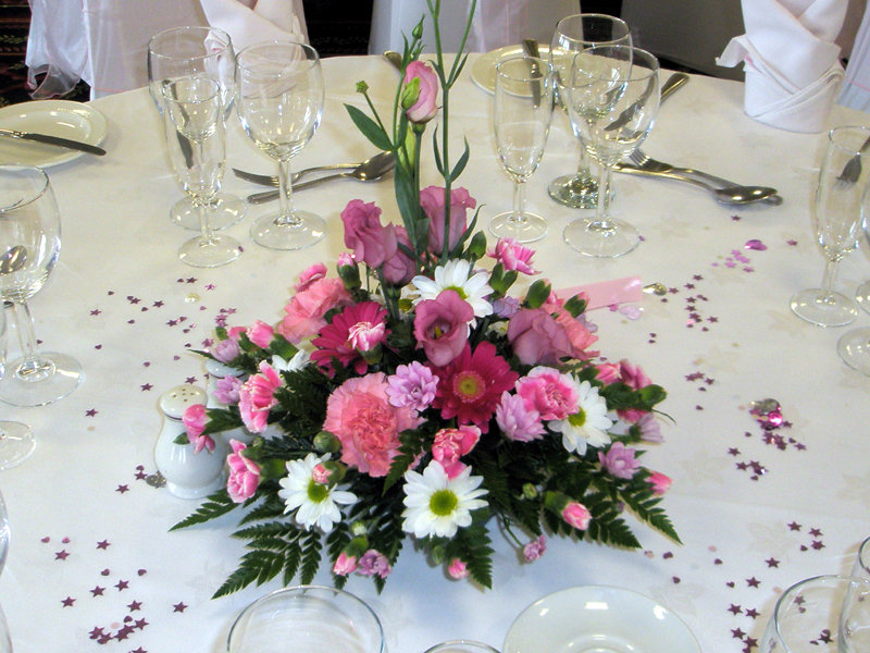 Table Posy Arrangement: £35.00