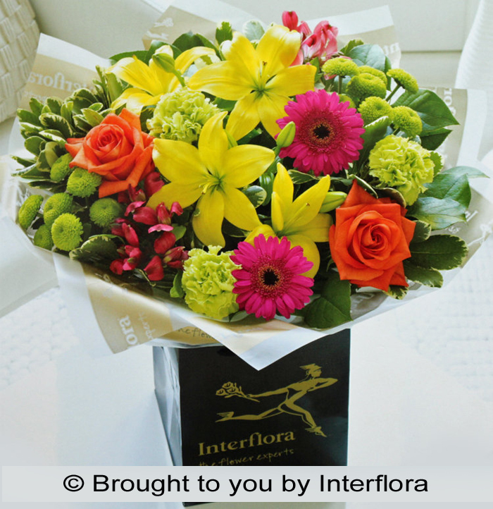 Vibrant Hand-Tied : £40.00