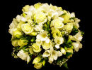 White Rose & Freesia Posy