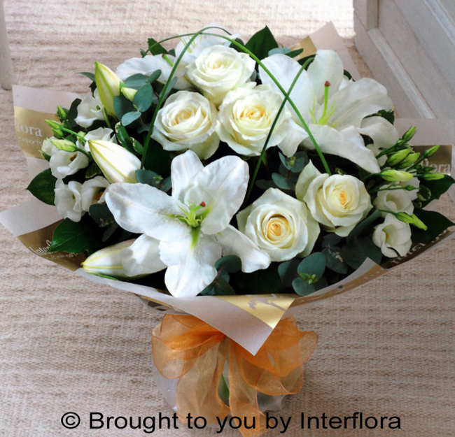 Wonderfully White Handtied: £50.00