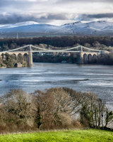 Menai Bridge in the Landscape