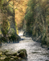 Fairy Glen at betws Y Coed