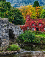 Bridge at Llanrwst