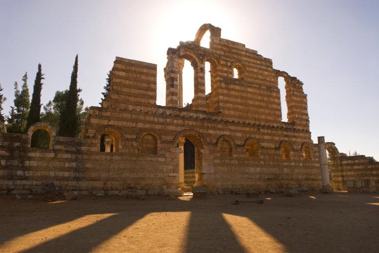 Great Palace, Aanjar, Bekaa Valley, Lebanon