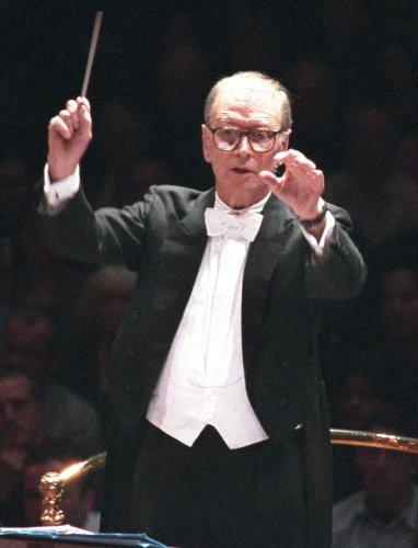 Italian film composer Ennio Morricone in concert